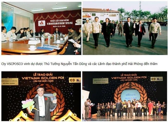 thành tựu tiêu biểu của thép Việt Hàn